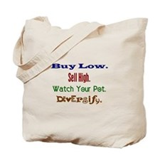 Buy Low Tote Bag