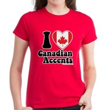 Canadian Accents Tee