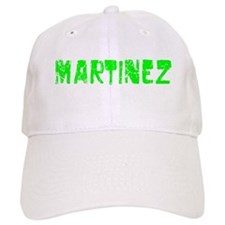 Martinez Faded (Green) Baseball Cap