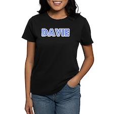 Retro Davie (Blue) Tee