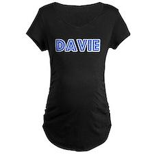 Retro Davie (Blue) T-Shirt