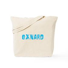 Oxnard Faded (Blue) Tote Bag