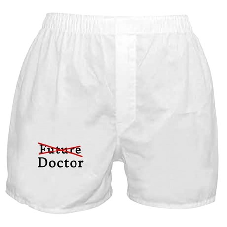 No Longer Future Doctor Boxer Shorts