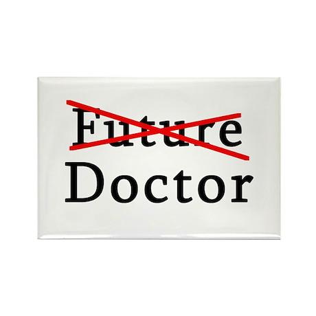 No Longer Future Doctor Rectangle Magnet (10 pack)