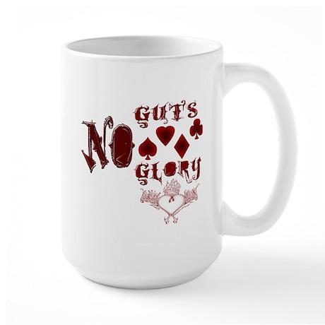 No Guts No Glory Large Mug
