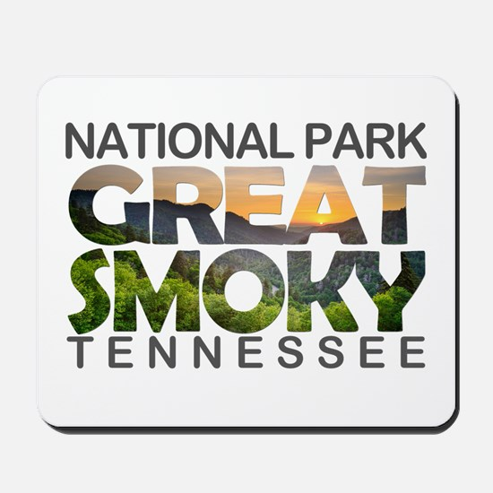 Great Smoky Mountains - Tennessee, North Mousepad