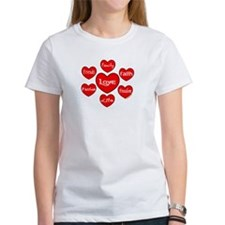 Hearts Orbit Tee
