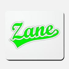 Retro Zane (Green) Mousepad