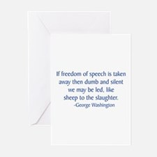Washington 2 Greeting Cards (Pk of 10)