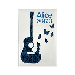 Alice 'Butterflies' Rectangle Magnet (10 pack)