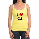 I Love CJ Jr. Spaghetti Tank