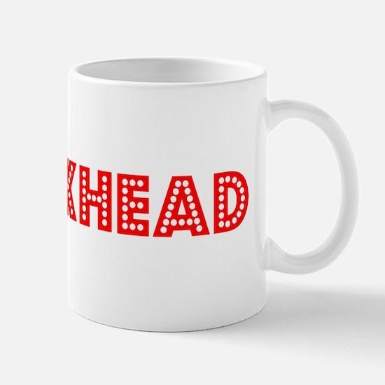 Retro Crackhead (Red) Mug