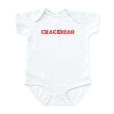 Retro Crackhead (Red) Infant Bodysuit