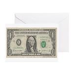 Dollar Bill Greeting Cards (Pk of 10)
