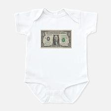 Dollar Bill Infant Bodysuit