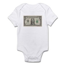 Dollar Bill Onesie