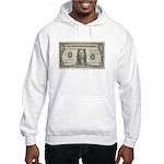 Dollar Bill Hooded Sweatshirt