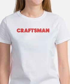 Retro Craftsman (Red) Tee