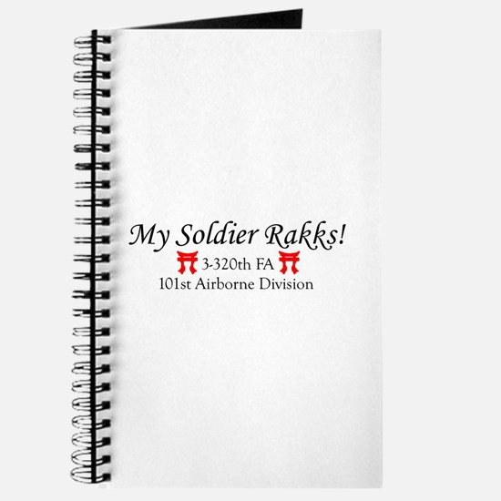 My Soldier Rakks! Journal