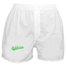 Retro Addison (Green) Boxer Shorts