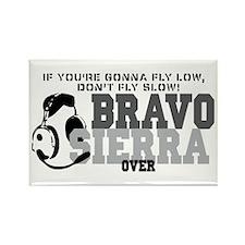 Bravo Sierra Avaition Humor Rectangle Magnet
