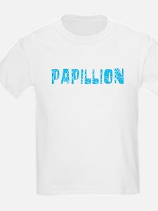Papillion Faded (Blue) T-Shirt