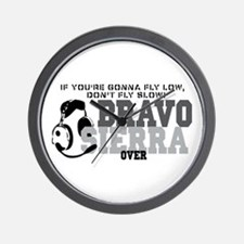 Bravo Sierra Avaition Humor Wall Clock