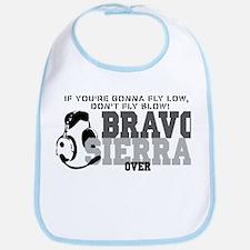 Bravo Sierra Avaition Humor Bib