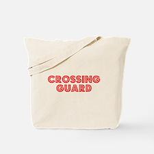 Retro Crossing Gu.. (Red) Tote Bag