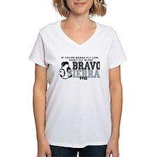 Bravo Sierra Avaition Humor Shirt