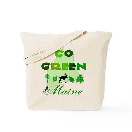 Go Green Maine Reusable Tote Bag