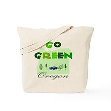 Go Green Oregon Tote Bag