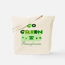 Go Green Pennsylvania Tote Bag