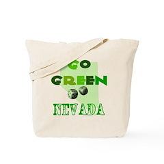 Go Green Nevada Tote Bag