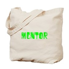 Mentor Faded (Green) Tote Bag