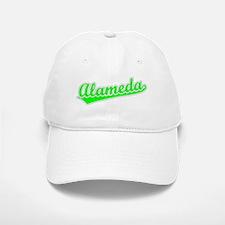 Retro Alameda (Green) Baseball Baseball Cap