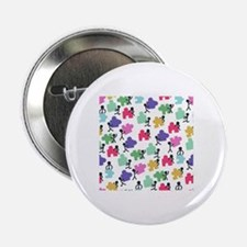 """Cute Autism awareness 2.25"""" Button"""
