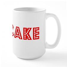 Retro Cupcake (Red) Mug
