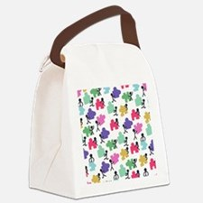 Cute Autism awareness Canvas Lunch Bag