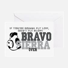 Bravo Sierra Avaition Humor Greeting Card