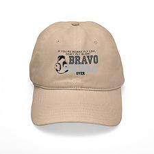 Bravo Sierra Avaition Humor Baseball Cap