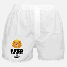 Kings are born in JULY C9188 Boxer Shorts