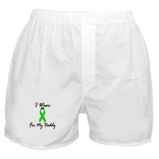 I Wear Lime Green For My Daddy 1 Boxer Shorts