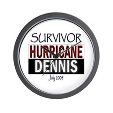 Survivor Hurricane Dennis Wall Clock