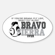 Bravo Sierra Avaition Humor Decal