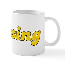 Retro Lansing (Gold) Mug