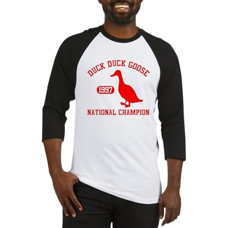 Duck Duck Goose National Champion Baseball Jersey