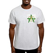 Anarchist Farmer Ash Grey T-Shirt
