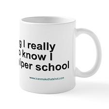 Sniper School Small Mug