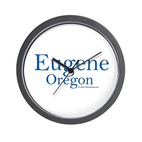 Eugene, OR Wall Clock